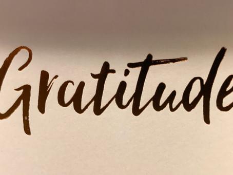 Gratitude for Common Sense