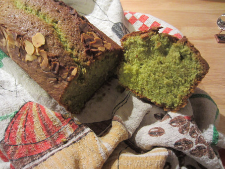 Cake au matcha simple et moelleux!