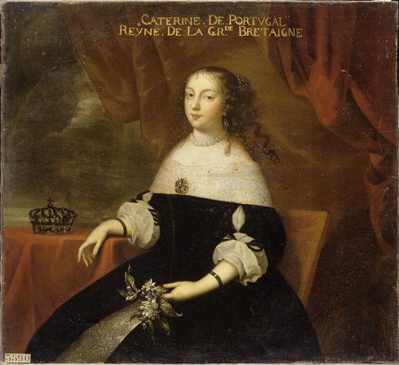 L'infante portugaise Catherine de Bragance.