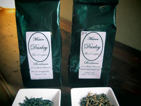 Tea tasting : deux thés de la Maison Durley