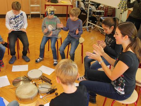 Volksschüler zu Gast in der Wirtschafts- und Musikmittelschule