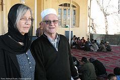 Annemari und Peter Schwittek in Afghanistan