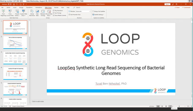 Webinar: Bacterial Genome Sequencing and Assembly with LoopSeq Bacterial Genome Kit