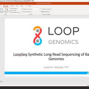 Bacterial Genome Sequencing and Assembly with LoopSeq Bacterial Genome Kit