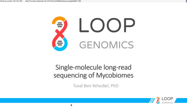 Webinar: LoopSeq for long-read Mycobiome sequencing