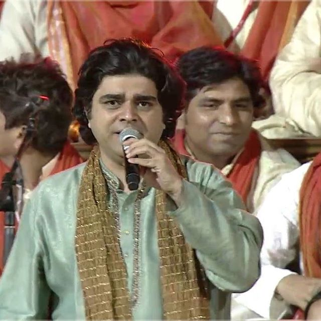Singing Vasudhaiva Kutumbakam today at #WCF2016