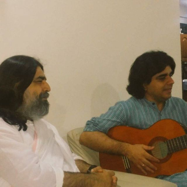 Wonderful melodious evening with Rishiji