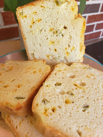Jalapeño Cheddar Bread Loaf