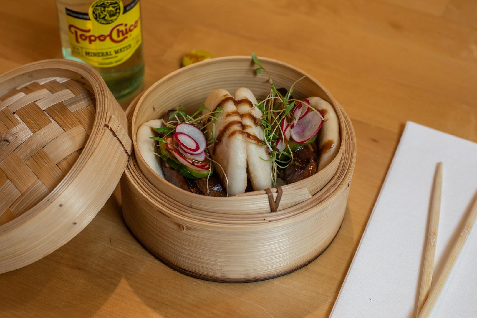 Nanbu Noodle Bar Grayton Beach Florida Pork Belly Buns