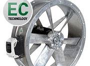 kanalfläkt med ECmotor