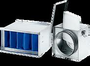 fläktillbehör filter filterbox ventilationsfilter