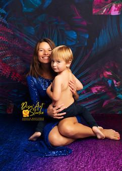 séance photos maman et moi glamour photographe aurelie martineau charente maritime la roch