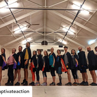 😱😍🔥 Three months ago @lyndallthegrant asked me to create some beautiful new fighting cloaks for @captivateaction! Since then I have sold cloaks to Melbourne, Brisbane, Sydney, USA, Canada, Norway and the UK! I can't describe the joy of seeing my cloaks on all these wonderful fighters! You rock my world!!  Posted @withregram • @captivateaction The best bunch of humans in our beautiful Fighting Cloaks from Amy Floyd @amyfloyd7