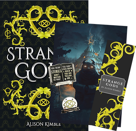 Signed Paperback & Goodies