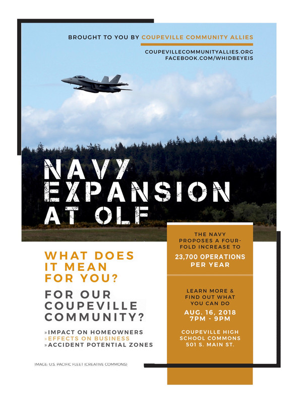 August 16 Forum on OLF Navy Expansion