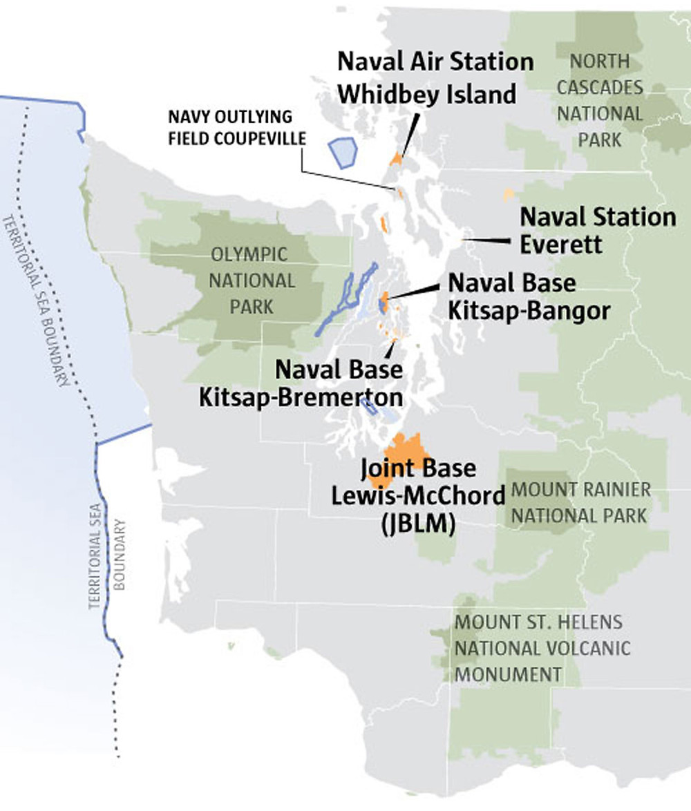 Military expansion in Western Washington - Seattle Times 4/2/16