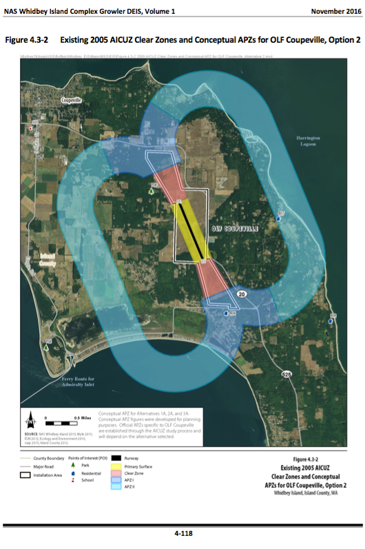 The Impact of Accident Potential Zones on Central Whidbey