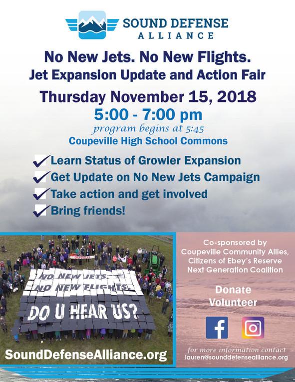 Jet Expansion Update & Action Fair