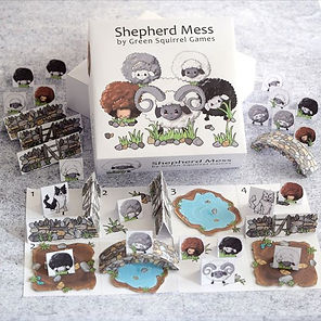 Shepherd Mess Free Print & Play Game