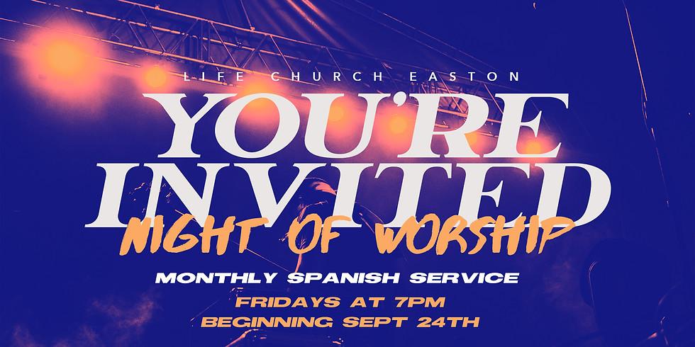 SPANISH WORSHIP SERVICE