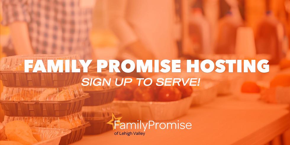 FAMILY PROMISE HOSTING