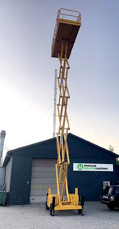 Roskilde Industrilakering af entreprenørmaskiner