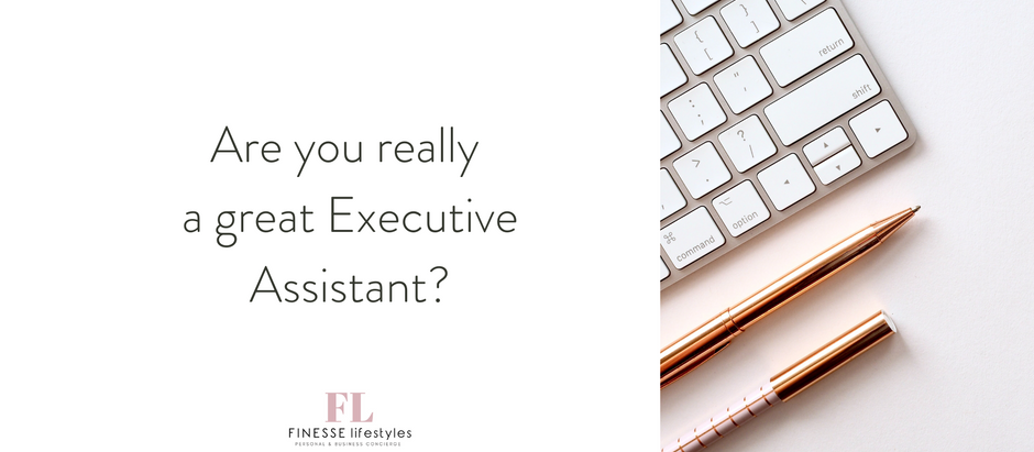 Are you really a great Executive Assistant?