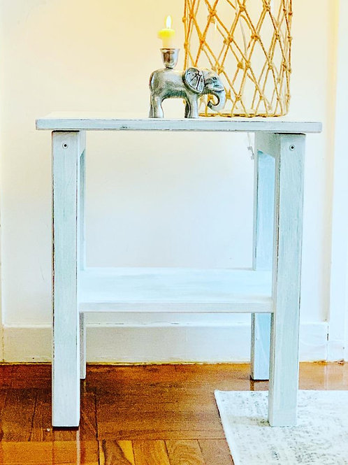 Small Distressed Side Table