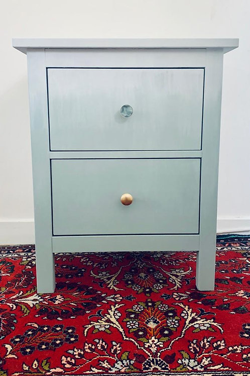 Ombré Two Drawer Side Table