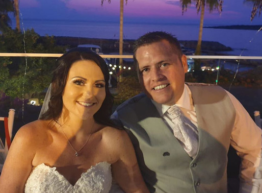 Jessica & James, 22nd October 2019 a Coral Beach Hotel