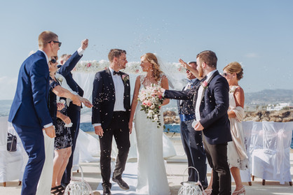 Cyntiana Beach Hotel Weddings Cyprus