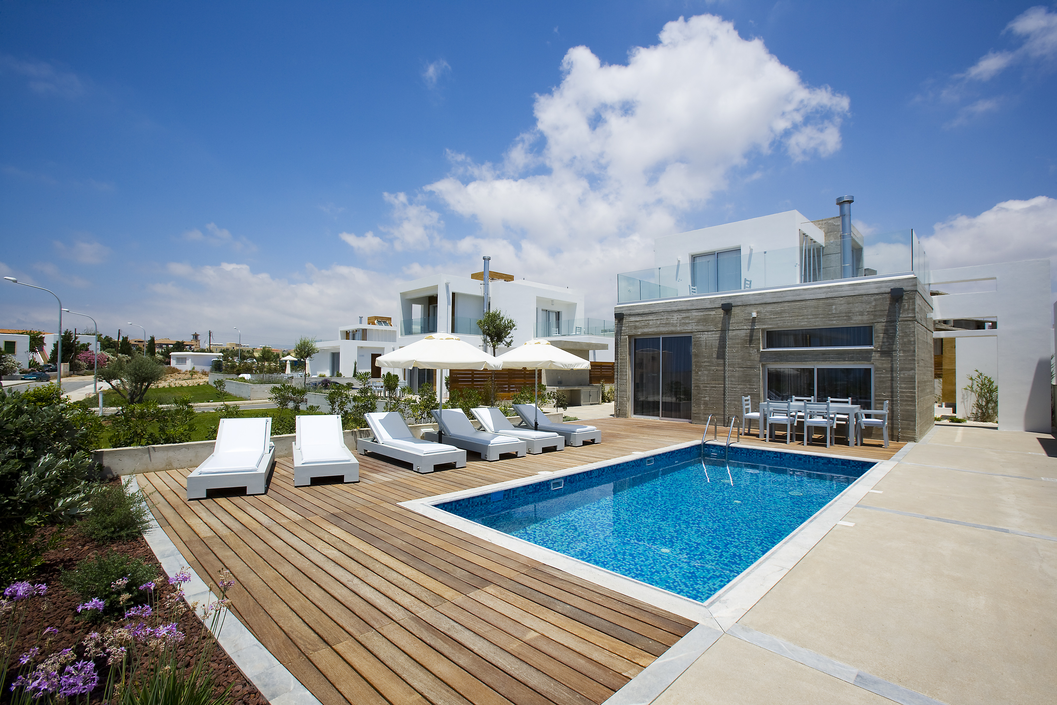 Modern and luxury villas in Cyprus