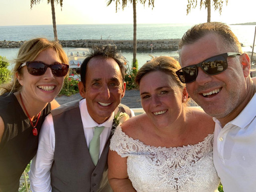 Sharon & John, Coral Beach Hotel, 23rd August 2019