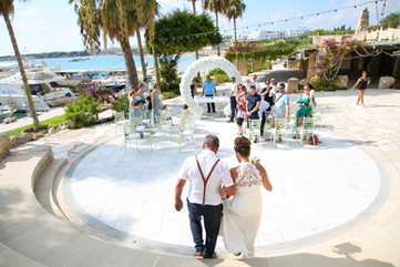 Getting married in Paphos Cyprus Coral Beach Hotel