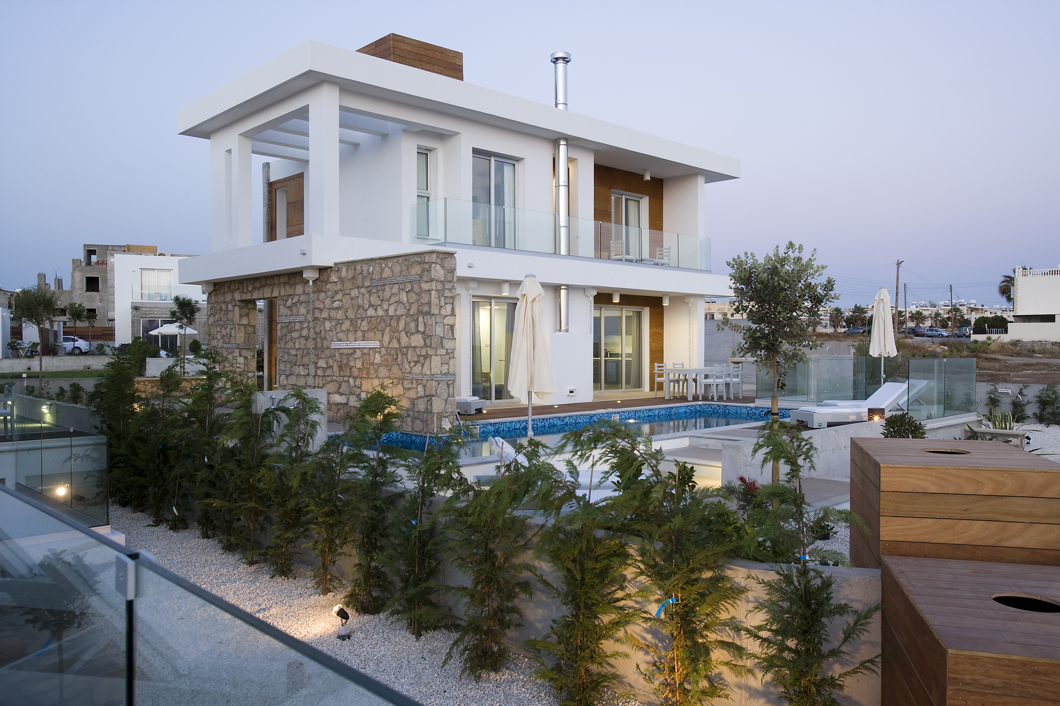 Cyan superior three bedroom villa Cyprus