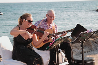 Live Music by Blue Jar for your Cyprus Wedding Ceremony and Cocktail reception