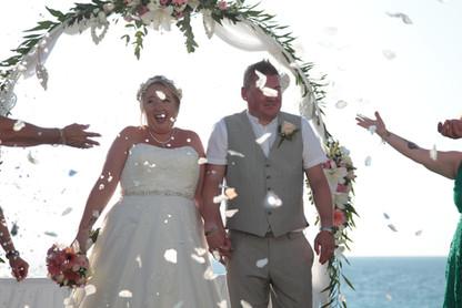 Beach villa weddings in Paphos Cyprus