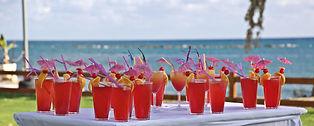 Beach wedding reception in Paphos by Cyprus Dream Weddings