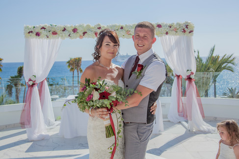 Wedding at the Annabelle Hotel Paphos Cyprus