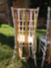 Cyprus wedding chairs chiaviari