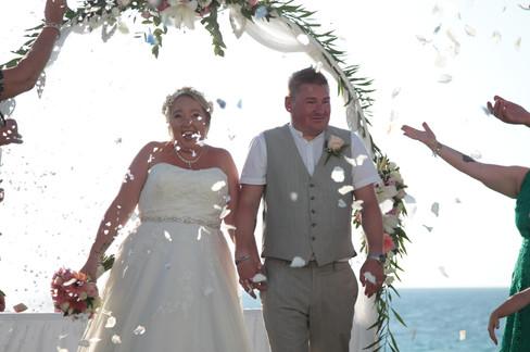 Beach villa weddings in Paphos CyprusBeach villa weddings in Paphos Cyprus