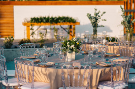 Alassos Ktina is a new great beach wedding venue