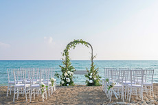 Beach wedding venue in Paphos Cyprus