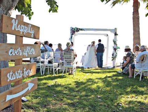 Atlantida beach wedding venue Paphos Cyprus by Cyprus Dream Weddings for 2022, 2023 and 2024