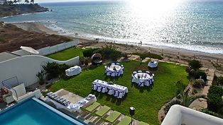 Paphos Cyprus Private Villa wedding reception
