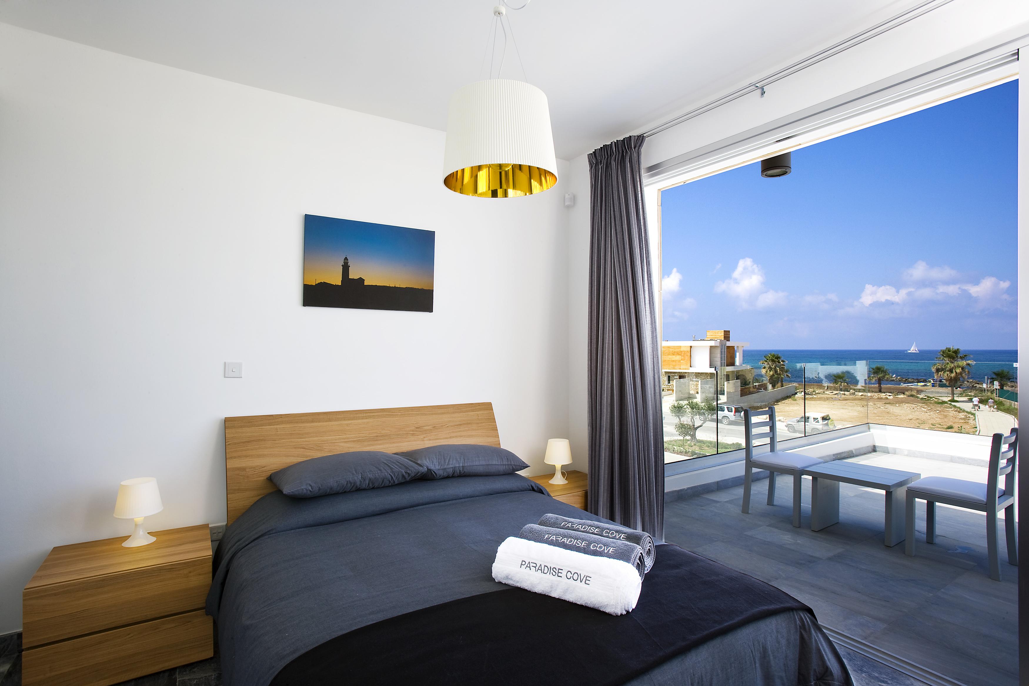 Beach Villa Turquoise Paphos Cyprus
