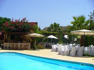 Vasilias Inn Nikoklis wedding reception venue in Paphos Cyprus