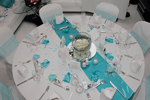 wedding reception center pieces and decorations
