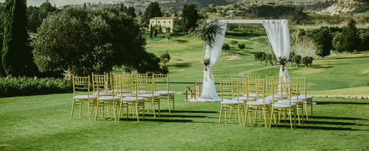 Wedding at luxury minthis Hills Cyprus