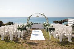 Cyprus Dream Weddings offering Beach villa wedding packages Paphos Cyprus
